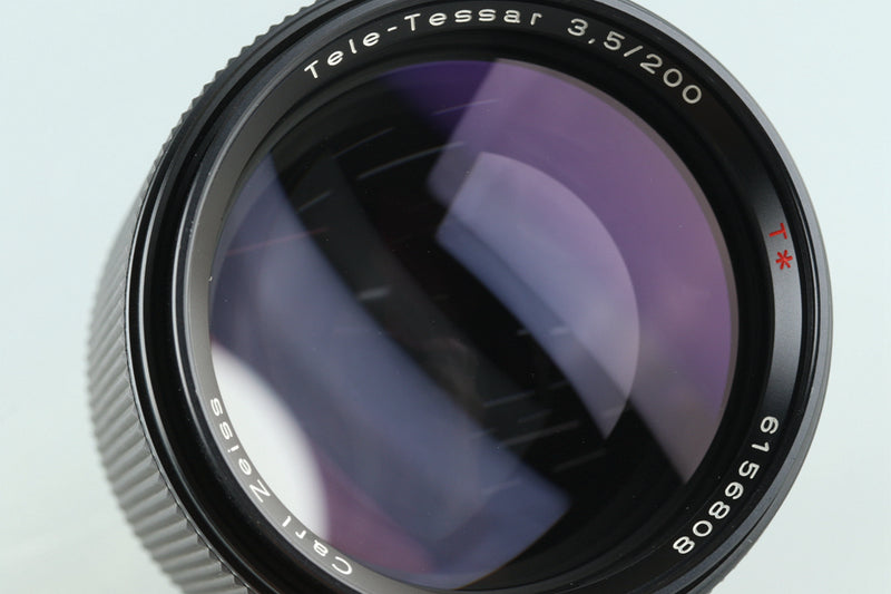 Contax Carl Zeiss Tele-Tessar T* 200mm F/3.5 AEG Lens for CY Mount #29560A1