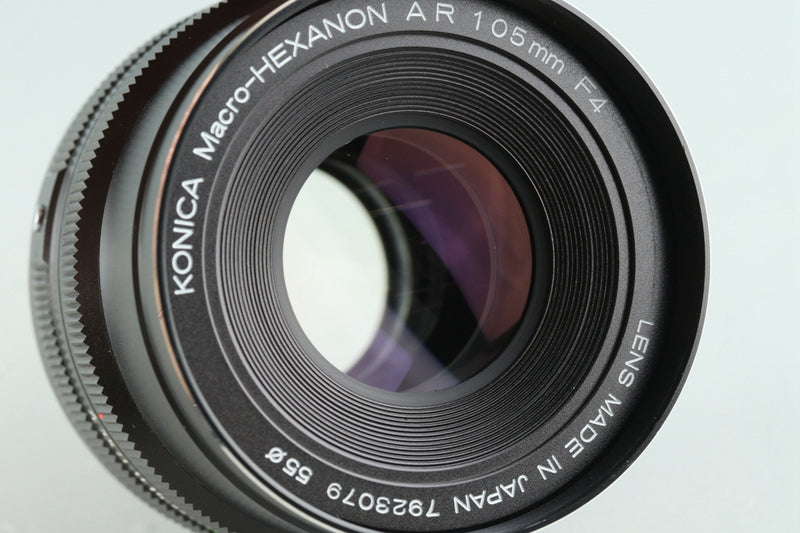 Konica Auto Bellows + Macro Hexanon AR 105mm F/4 Lens #29561E5
