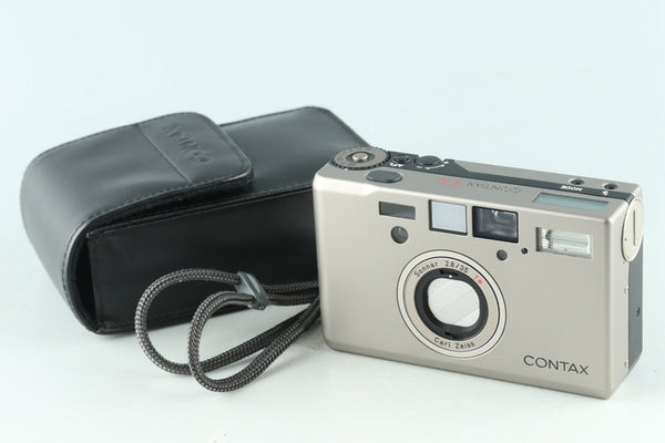 Contax T3 35mm Point & Shoot Film Camera #29654D3
