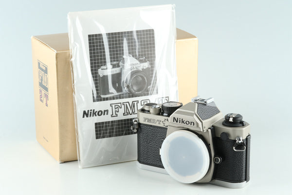 Nikon FM2/T 1994 The Dog Year 300 Limited Model With Box #29663L4