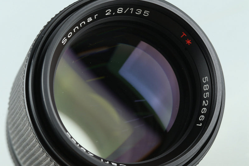 Contax Carl Zeiss Sonnar T* 135mm F/2.8 AEJ Lens for CY Mount #29677H31