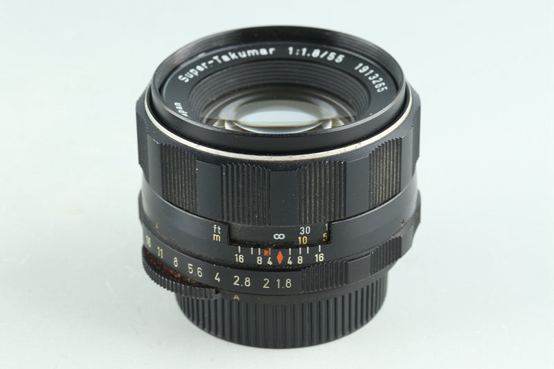 Asahi Pentax Super Takumar 55mm F/1.8 Lens for M42 Mount #29701H12