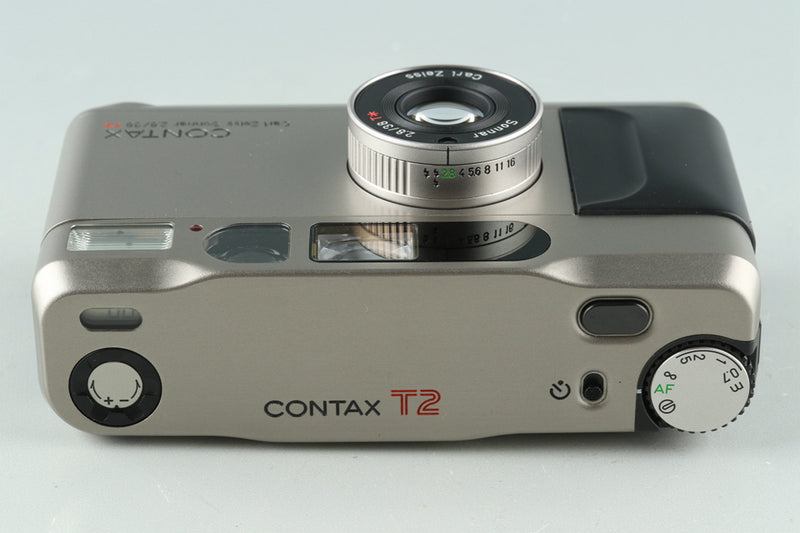 Contax T2 35mm Point & Shoot Film Camera With Box #29712L8