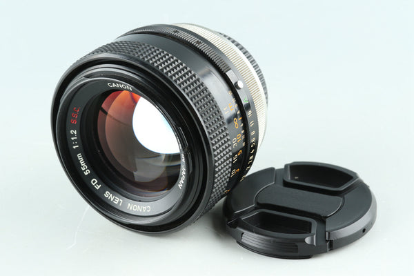 Canon FD 55mm F/1.2 S.S.C. Lens #29769 F4