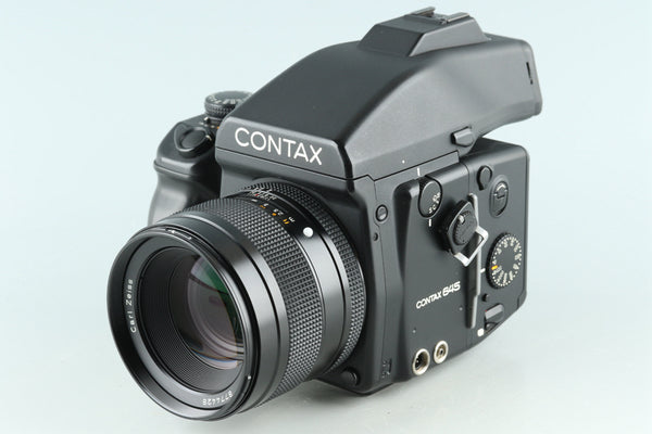 Contax 645 + 80mm F/2 Lens + MF-1 + MFB-1 #29850E1