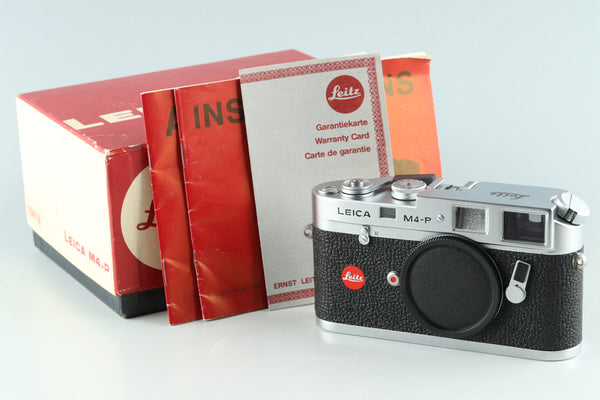 Leica Leitz M4-P 35mm Rangefinder Film Camera With Box #29897L2