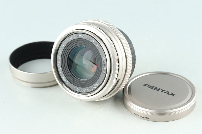 SMC Pentax-FA 43mm F/1.9 Limited Lens for Pentax K #29916G23