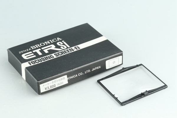 Zenza Bronica ETR Si Focusing Screen-Ei With Box #30079F2