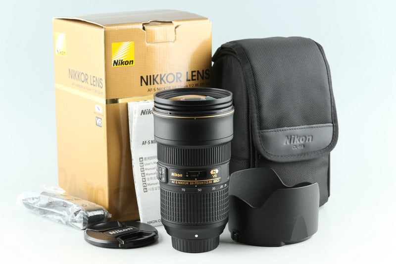 Nikon AF-S Nikkor 24-70mm F/2.8 E ED N VR Lens With Box #30121L4