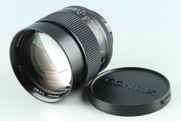 Contax Carl Zeiss Planar T* 85mm F/1.4 AEG Lens for CY Mount #30128G32