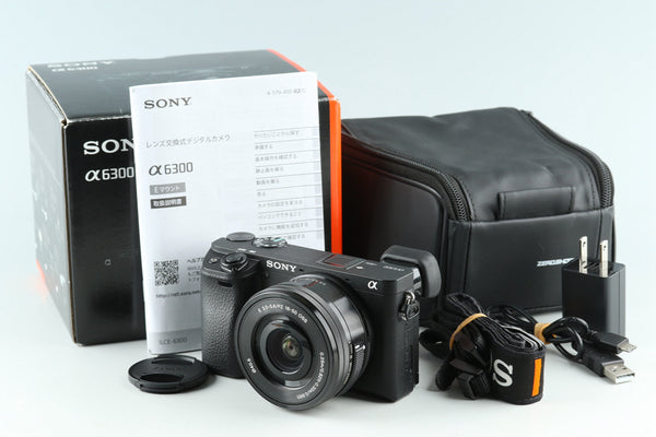 Sony α6300 / a6300 Digital Camera + 16-50mm With Box *JP Language Only* #30140L2