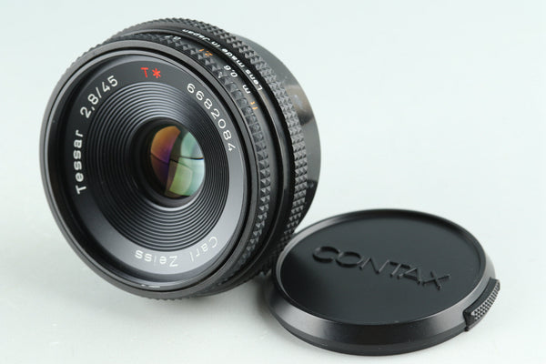 Contax Carl Zeiss Tessar T* 45mm F/2.8 AEJ Lens for CY Mount #30146A2