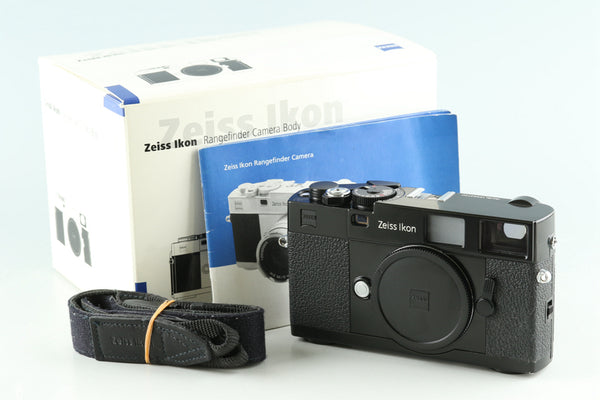 Zeiss Ikon ZM 35mm Rangefinder Film Camera In Black #30242L6