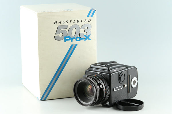 Hasselblad 503CX + 80mm F/2.8 CF Lens + A12 With Box #30245F1
