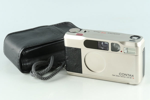 Contax T2 Platin 35mm Point & Shoot Film Camera #30341D3