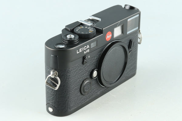 Leica M6 TTL 0.72 35mm Rangefinder Film Camera In Black #30355D2