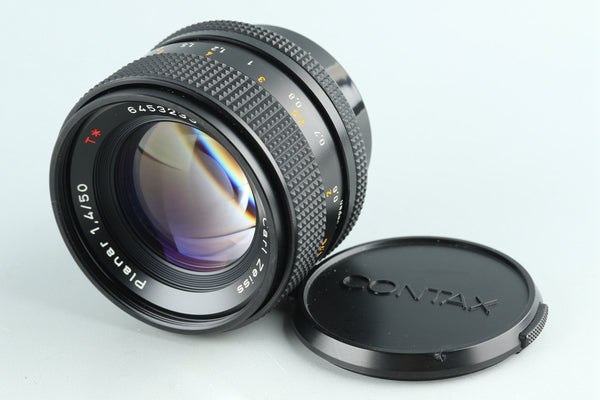 Contax Carl Zeiss Planar T* 50mm F/1.4 AEJ Lens for CY Mount #30364A2