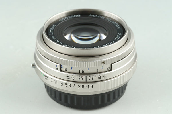 SMC Pentax-FA 43mm F/1.9 Limited Lens for Pentax K #30379C4