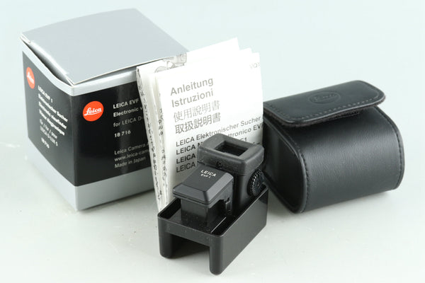 Leica EVF 1 Electronic Viewfinder 18716 With Box #30382L1