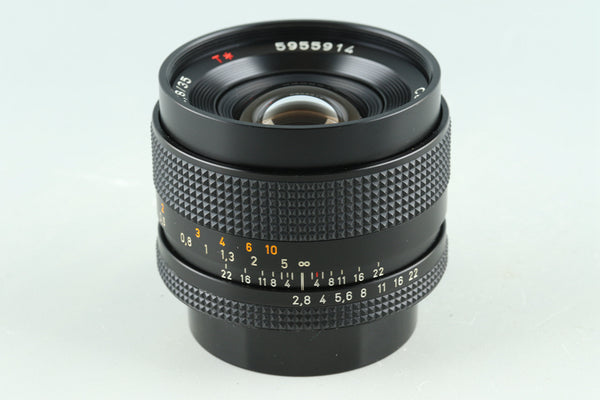 Contax Carl Zeiss Distagon T* 35mm F/2.8 AEJ Lens for CY Mount #30386A2