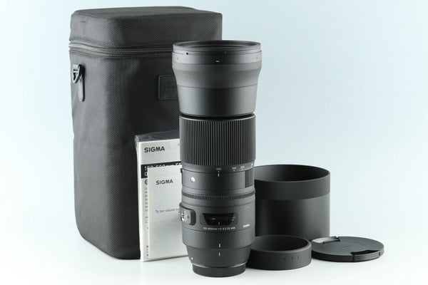 Sigma C 150-600mm F/5-6.3 DG Lens for Canon #30405L