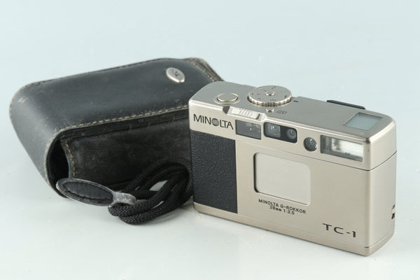 Minolta TC-1 35mm Point & Shoot Film Camera #30419D4