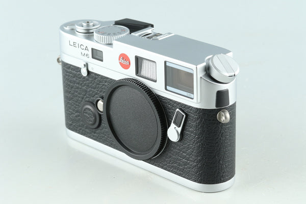 Leica M6 TTL 0.85 35mm Rangefinder Film Camera In Silver #30430D1