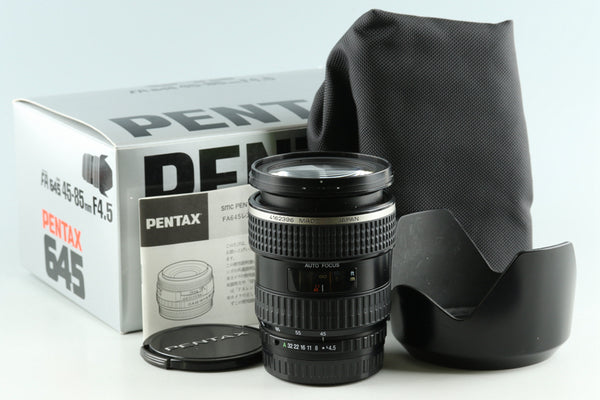 SMC Pentax FA 645 45-85mm F/4.5 Lens for Pentax 645 With Box #30464L9