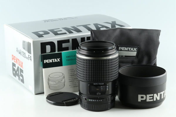 SMC Pentax-FA 645 Macro 120mm F/4 Lens for Pentax 645 With Box #30467L9
