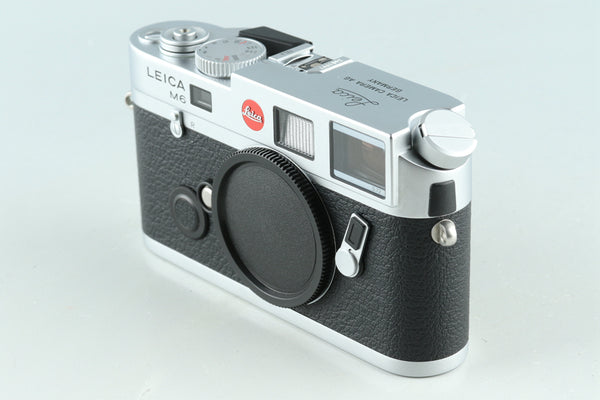 Leica M6 TTL 0.72 35mm Rangefinder Film Camera In Silver With Box #30529L1