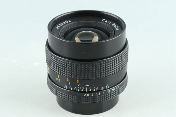 Contax Carl Zeiss Distagon T* 28mm F/2.8 AEJ Lens for CY Mount #30688A2