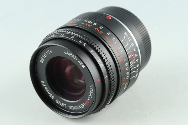 Konica M-Hexanon 35mm F/2 Lens for Leica M #30732E6