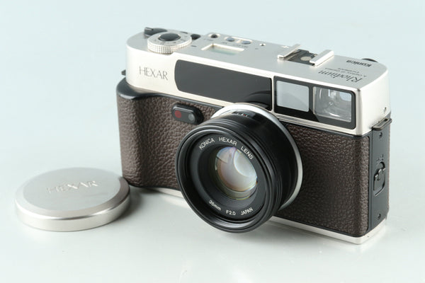 Konica Hexar Rhodium 35mm Rangefinder Film Camera #30736E5