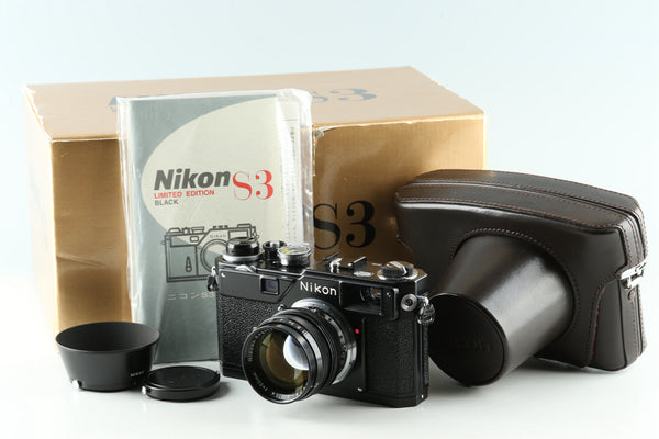 Nikon S3 Limited Edition Black With Box #30837L4