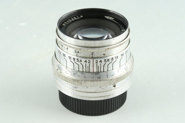 Jupiter-8 50mm F/2 Lens for Leica L39 #30862E6