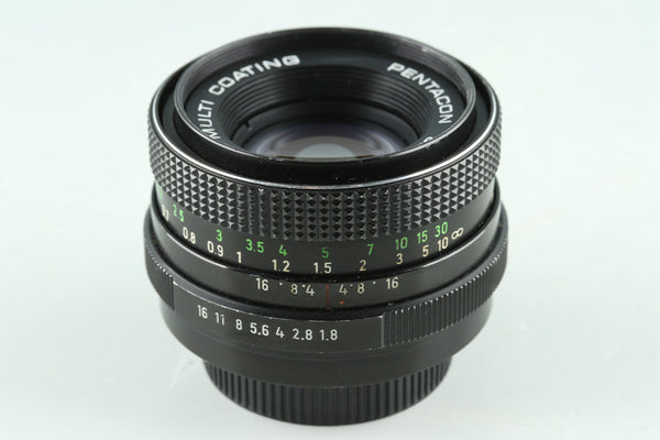 Pentacon auto 50mm F/1.8 Multi Coating Lens for M42 Mount #30869F5