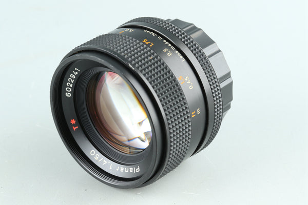 Contax Carl Zeiss Planar T* 50mm F/1.4 AEJ Lens for CY Mount #30882A2