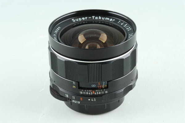 Asahi Pentax Super Takumar 20mm F/4.5 Lens for M42 Mount #30896C4