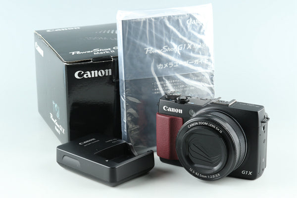 Canon Power Shot G1X Mark II Digital Camera With Box #30925L3