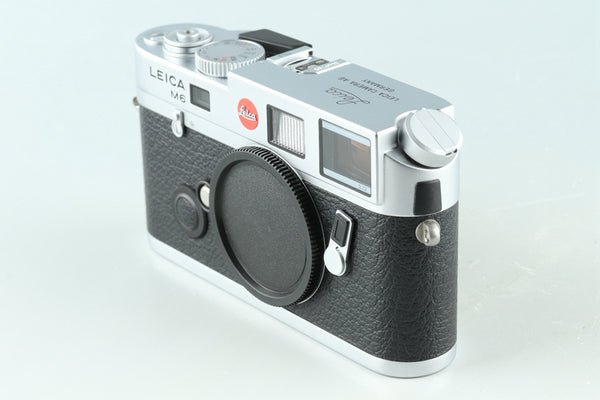 Leica M6 TTL 0.72 35mm Rangefinder Film Camera In Silver #30944D2
