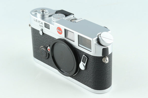 Leica M6 0.72 35mm Rangefinder Film Camera In Silver #30949L1