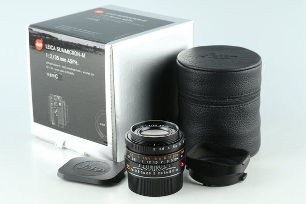 Leica Summicron-M 35mm F/2 ASPH. E39 6-bit Lens for Leica M With Box #30950L1