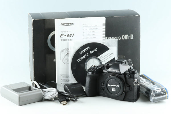 Olympus OM-D E-M1 Digital SLR Camera With Box *Count 30* #30985L7