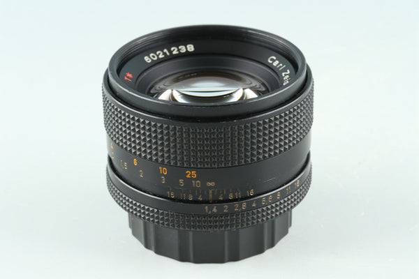 Contax Carl Zeiss Planar T* 50mm F/1.4 AEJ Lens for CY Mount #31069A3
