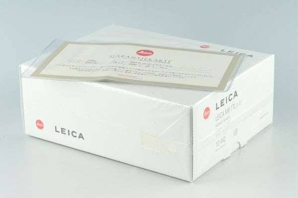 *New* Leica M6 TTL 0.72 35mm Rangefinder Film Camera In Black With Box #31080L2
