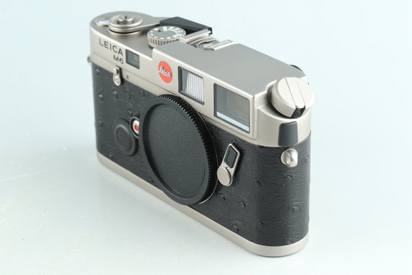 Leica M6 Titanium 35mm Rangefinder Film Camera With Box #31122L2