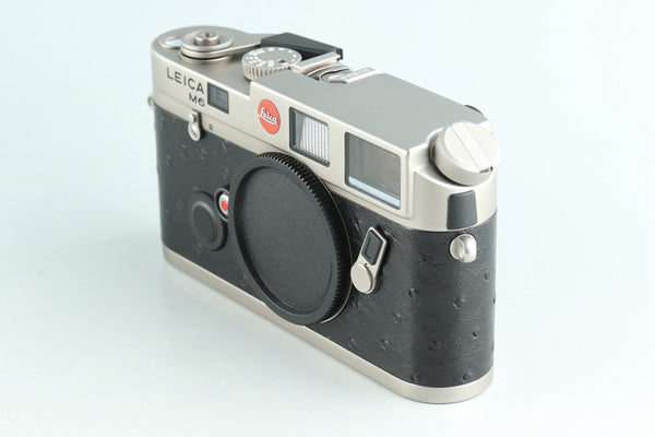 Leica M6 Titanium 35mm Rangefinder Film Camera With Box #31123L2