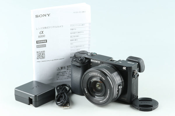 Sony α6000 / a6000 Digital Camera + 16-50mm *JP Language Only* #31174E3