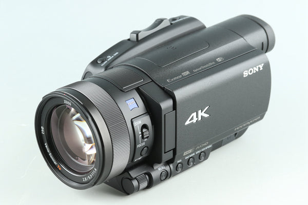 Sony FDR-AX700 4K Digital Video Camera With Box #31184L2