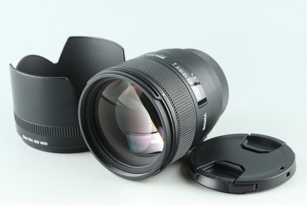 Sigma EX 85mm F/1.4 DG HSM Lens for Canon #31185H32